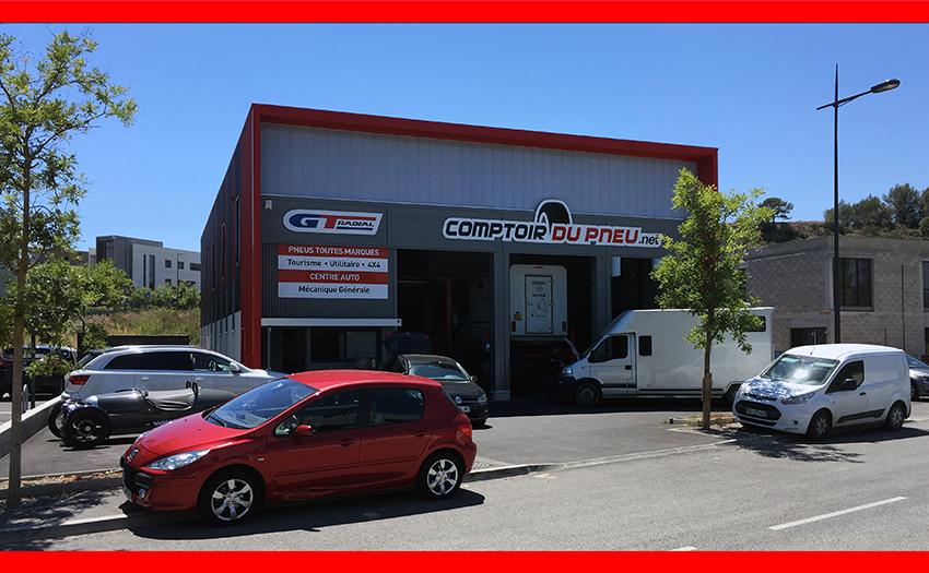 Contactez votre garage automobile le comptoir du pneu for Garage automobile le cannet